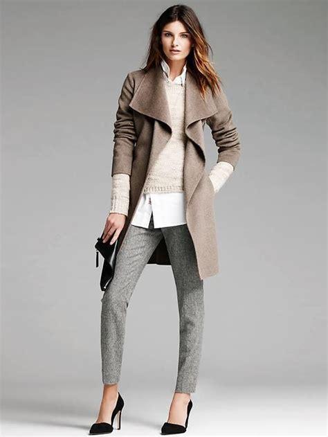 Banana Republic Draped Wool Coat - banana republic draped wool coat classic cool fashion