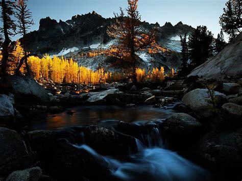 sunset   enchantments washington state