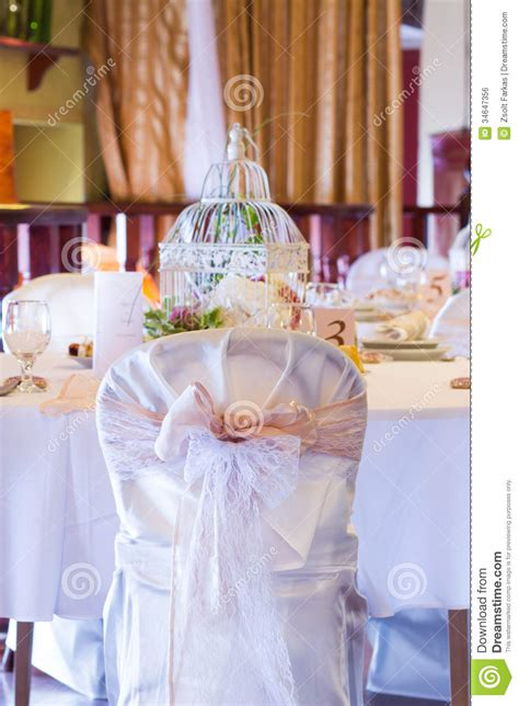 Wedding Table And Chairs With Vintage Decoration Royalty