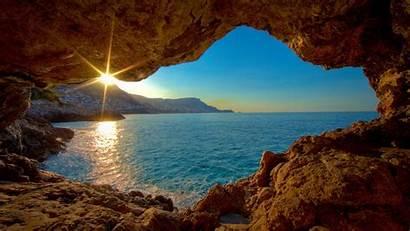 Cave Sea Desktop Backgrounds Wallpapers Mobile