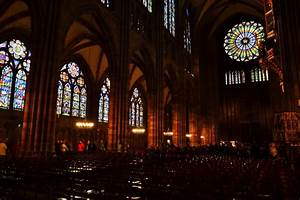 Inside the Cathedral of Strasbourg