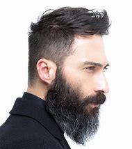 Undercut Hairstyle Men with Beards