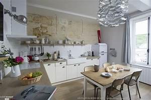 Deco Maison Bord De Mer : deco bord de mer salon avec cuisine moderne pays idees de decoration idees et project 223821 pic ~ Teatrodelosmanantiales.com Idées de Décoration