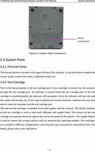 Edan Instruments I15edan Blood Gas And Chemistry Analyzer