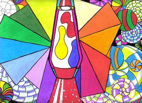 trippy lava l drawing psychedelic lava l by missaquamarine on deviantart