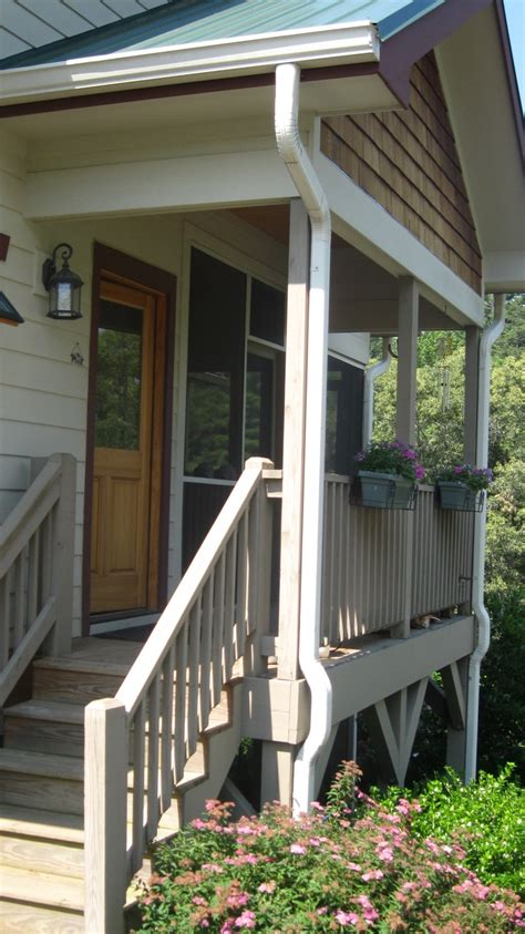 house porch side view 51 best images about deck porch railing on pinterest