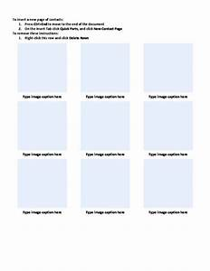 Photo contact with captions sheet template word templates for Photo contact sheet template word