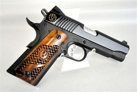 The New Ruger Sr1911 Commander With French Walnut Grips I