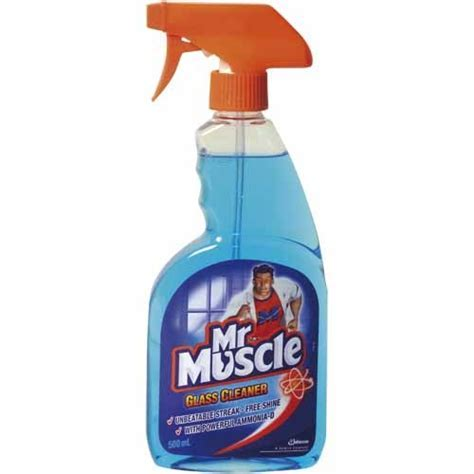 Mr Muscle Glass Cleaner   Indoor Cleaners   Mitre 10?