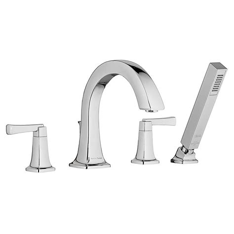 deck mount tub faucet american standard townsend 2 handle deck mount tub