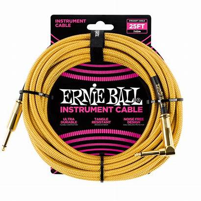 Ball Straight Ernie Braided Instrument Angle Cable