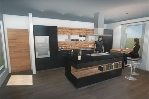 twinmotion animation video kitchen design  manuel