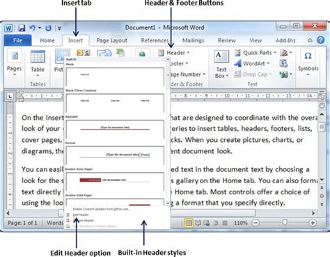 header and footer on microsoft word todaywmcz