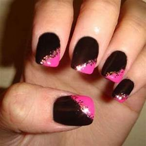 Online-courses-nail-technicians-Black-and-Pink-Nail ...