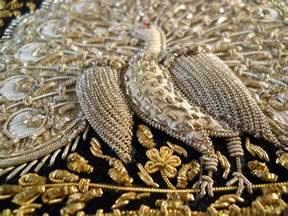 wedding dressing local fashion zardozi the ancient of metal embroidery