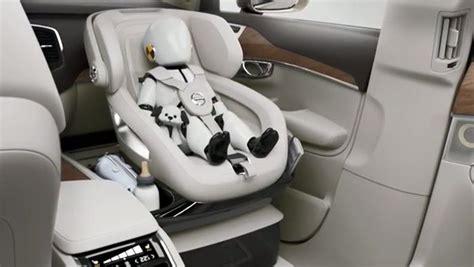 siege bebe mercedes le concept de siège auto de luxe pour enfant par volvo cars