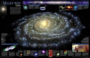 Map Of The Milky Way   Space