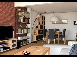 Interieur Style Industriel : style industriel pur noisy le grand mh deco ~ Melissatoandfro.com Idées de Décoration