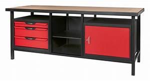 Etabli D Atelier : etabli professionnel d 39 atelier 1 porte et 3 tiroirs ks ~ Edinachiropracticcenter.com Idées de Décoration