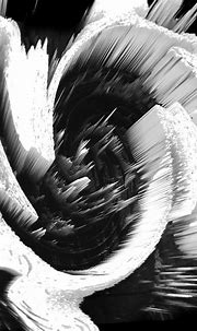 3d Swirl Abstract Black And White Background Abstraction ...