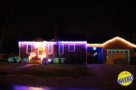 scenes of local christmas light displays o fallon weekly