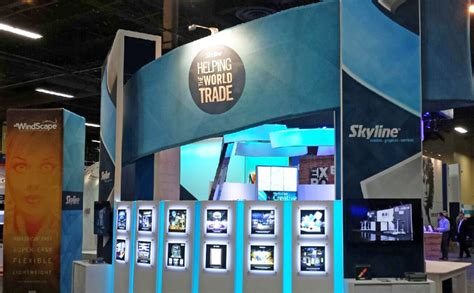skyline exhibits las vegas trade show displays services