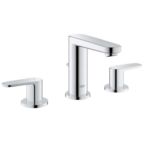 faucet reviews kitchen grohe europlus 8 in widespread 2 handle low arc bathroom