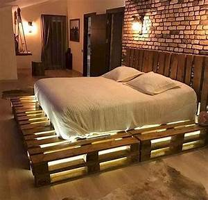 50, Creative, Recycled, Diy, Projects, Pallet, Beds, Design, Ideas