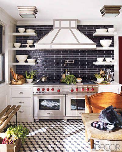 decorative kitchen backsplash 20 black and white kitchen design decor ideas 3122