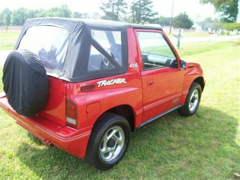 sidekick jeep 1994 geo tracker convertible sidekick jeep suv tow for