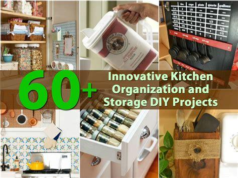 diy ideas for kitchen 60 innovative kitchen organization and storage diy