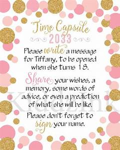 the 25 best time capsule birthday ideas on pinterest With baby time capsule letter
