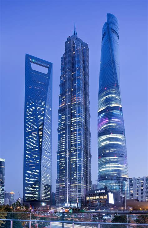 World Second Tallest Building Completed Shanghai