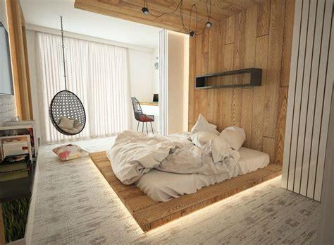 Wohnideen Aus Holz by Indirekte Beleuchtung Unter Dem Podest Aus Holz Home