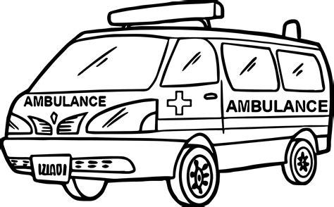 ambulance coloring pages max ambulance coloring page wecoloringpage