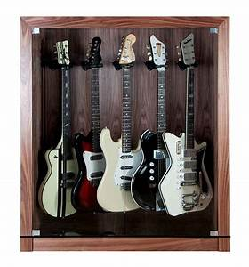 How To Build A Guitar Display Cabinet - WoodWorking