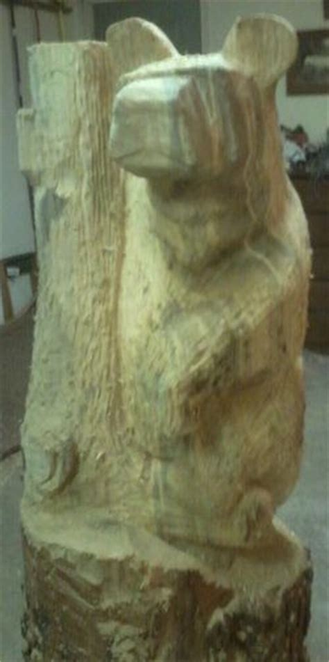 images  chainsaw carving favorite bear ideas