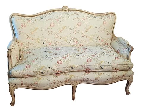 Provincial Settee by Antique Provincial Settee Chairish