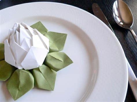 paper napkin folding instructions create festive