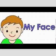 Talking Flashcards My Face Youtube