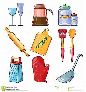 Kitchen Tools And Equipment Clipart - ClipartXtras