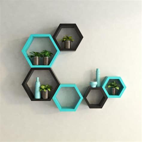 wonderful hexagon shelves