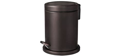 Bronze Bathroom Trash Can With Lid by 7 Bathroom Wastebaskets Groomed Home