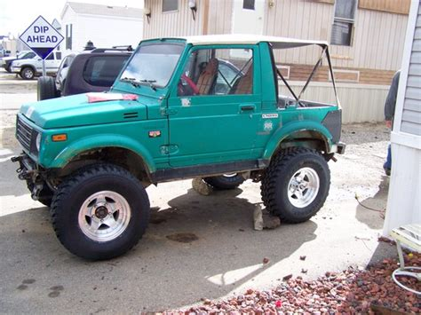 jeep samurai rotativo dbledeuce 1987 suzuki samurai specs photos modification