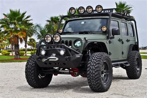 jeep wrangler military green jk resurected rccrawler
