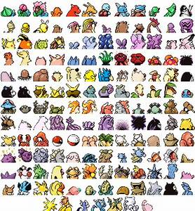 Pokemon Red/Blue recolored (Back sprites) by ChefBravo on ...