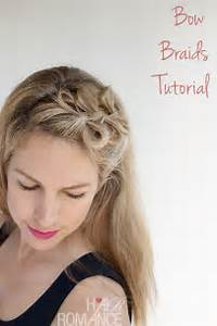 Bow Braids Hairstyle Tutorial - Hair Romance