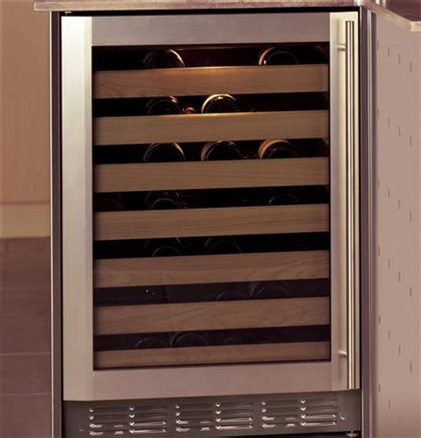 zdwrhbs monogram stainless steel wine reserve monogram appliances