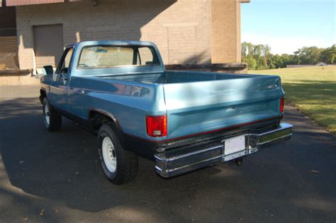 Chevrolet C/k Pickup 2500 Pick Up 1985 Sky Blue Metallic