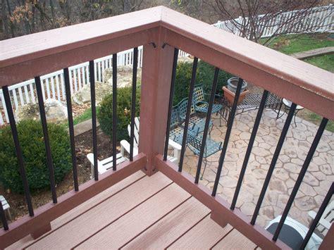deck railing ideas   choose   rail design